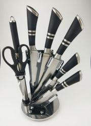 Корпус из нержавеющей стали 8 ПК на базе комплекта ножей на кухне с акрилового бруска