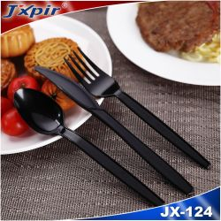 أدوات مائدة بلاستيكية PS يمكن التخلص منها، سكين بلاستيكي، شوكة، ملعقة