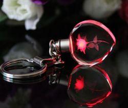 Горячие продажи дешевой цене персонализированные Crystal цепочке для ключей для рекламных подарков