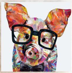 دراسة خنزير [أيل بينتينغ] لأنّ جدار فنّ