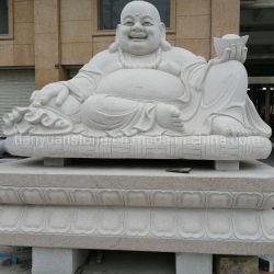 De schitterende Standbeelden van Boedha met het Snijdende Beeldhouwwerk van het Graniet van de Steen voor Tuin