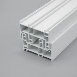 UPVC/PVC Extrusion de couleur blanche de qualité Super Série coulissante et les profils de Windows
