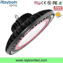 Garantie de 5 ans 100W 120W 150W 200W 250W 300W Industrial UFO LED High Bay de la lumière avec la norme IP66