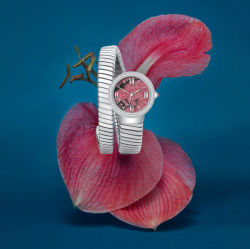 Новый элегантный моды моды перед лицом дамы смотреть на запястье браслет из нержавеющей стали (71189)