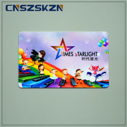 Kundenspezifischer farbenreicher Offsetdrucken Belüftung-Plastikkarten-Hersteller Nexqo