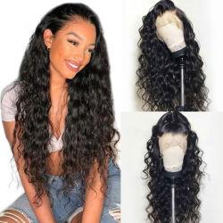 2021 Hot Selling Groothandel Gratis verzending met de cuticle in lijn onbewerkt Braziliaans Haar Virgin menselijke Hair Lace Wigs