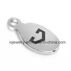 Petit Logo de la société Tag pour Bracelet Chaîne de queue