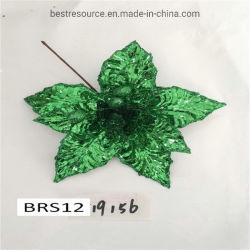 La navidad de tela Sequin de cabeza de Flores Flor flor de pascua de Navidad