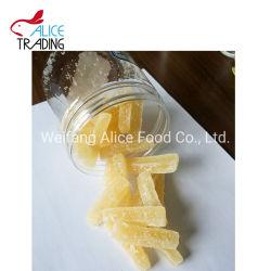 Estilo de secas produzidas na fábrica chinesa de gengibre secas Sticks comida de gengibre
