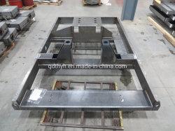 Telai di base per motori per generatori e compressori personalizzati e pesanti Pattini di servizio per i clienti OEM