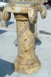 Hand geschnitzter antiker Steinpfosten für Haus (QCM216)