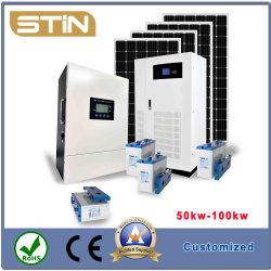 容易な設置 50 kW 60 kw 80 kW 100 kw オフグリッド太陽光発電 システム