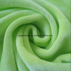 100% tejido de terciopelo tejido de bambú