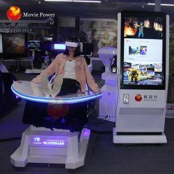 시청자의 VR 슬라이드 가상 현실 게임 머신 체험에 관심을 끌세요