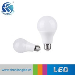 E27 алюминиевых+PC 3W 5W 7W 9W 12W 15W A60 лампа светодиодная лампа