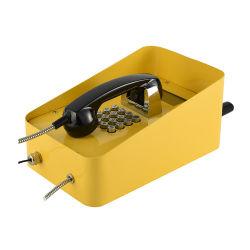 Telefono Emergency del supporto della parete del telefono robusto impermeabile della metropolitana IP66