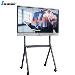 Soluzioni elettroniche interattive infrarosse di tocco LED Whiteboard di 65 pollici multi per il banco