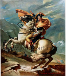 Pitture a olio Handmade del Napoleon della riproduzione di capolavori di 100%