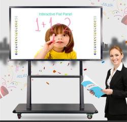 86 duim 98 Duim allen in Één Bord van het Gebruik van het Onderwijs Whiteboard van het Scherm van de Aanraking Interactief
