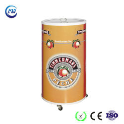 Barillet de promotion du refroidisseur de boissons avec quatre roues Ce approuvé (SC-75T)