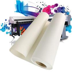 24'', 36'', 60'' Matte 380gsm Arte do Rolo de jacto de tinta de poliéster lona esticada para a impressão de fotos