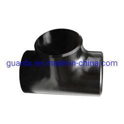 黒い絵画ASME B 16.9溶接された管付属品Eccの減力剤