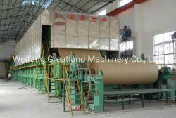 見返しまたはクラフト紙または製紙工場のためのテストはさみ金または文化の5-300tpdペーパーマシンのペーパー生産ラインペーパー