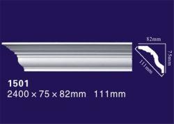 التصميم الداخلي / الخارجي زيّن زخرفي، PU / قوالب التاج المسطح من البولي يوريثان