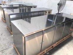 Meeresfrucht-Gemüse-Frucht-Gebrauch-Luftkühlung-Kühlraum mit Werktisch