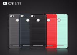 Fibra de carbono ambiental Redmi Xiaomi Phone Caso