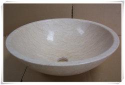 Dispersore di marmo beige della lavata del bacino del dispersore di Sotne per la cucina/stanza da bagno