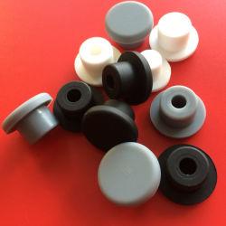 Resistente al agua el tapón de caucho de silicona de tipo T, el tapón de goma, producto de goma