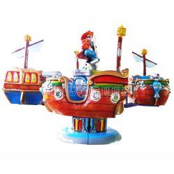 Jolie kiddie rides de pivotement de l'Amusement Park 4 sièges kiddie ride mini, mini-aéronef d'avion pour la vente