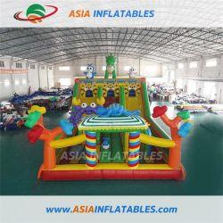 Almofada insuflável Mini Dinossauro Castelo Bouncer adorável para crianças