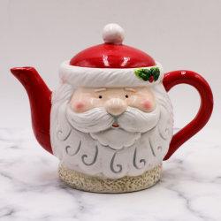 크리스마스 공예 아이디어 세라믹 티 포트 홈 장식