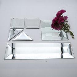 銀製浴室のホーム体操および家具ミラーのためのミラーアルミニウムミラーの安全ミラーの体操ミラーのダンスのスタジオのミラーによって斜角を付けられるミラー