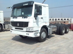 Sinotuk HOWO 6X4 중부하 작업용 트랙터 헤드 트럭/견인 차량