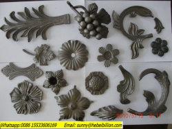 Desplazamiento de hierro forjado con láminas de acero forjado
