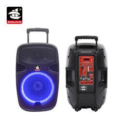 Portátil de 15 pulgadas Professional Altavoz ALTAVOZ altavoz Bluetooth (PS-1215LR-60(LED))