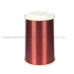 Fil de cuivre émaillé Polyesterimide enroulement de fils de l'aimant sur le fil Rewinging fil Fil de cuivre émaillé de fil de l'aimant (EIW/180)