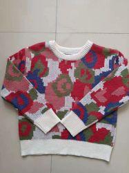 Kinder Pullover Mädchen Acryl/Wolle Langarm