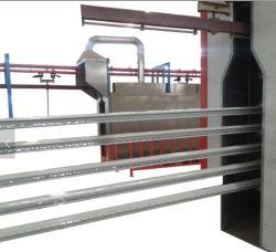 Perfiles de aluminio Línea de revestimiento Revestimiento de polvo de la máquina (equipo personalizado)