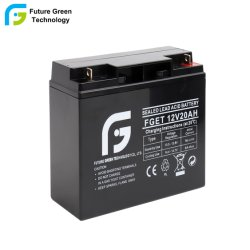batteria ricaricabile acida al piombo sigillata 20ah 12V utilizzata nel segnalatore d'incendio di incendio di obbligazione