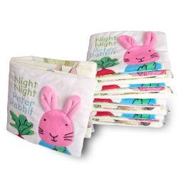 ピーターのウサギのクロス装の柔らかい男の子の女の子の教育おもちゃ