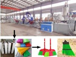 سمعة جيدة للمستخدم في الصين بوليستر فرشاة اليرن صناعة آلة طرد/غرفة خط طرد الفتيل آلة طرد الفتيل/آلة طرد بلاستيك SJ-80