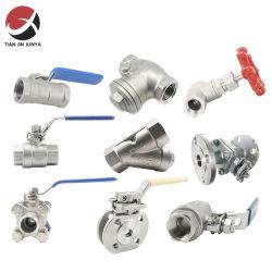 ANSI/DIN/norma JIS 2 piezas de acero inoxidable de válvula de bola de brida, todos los tamaños de combustible/freno/Control/Control/Mariposa/estrangulador/Diafragma/Gate/Planeta/agua/gas/válvula de aguja