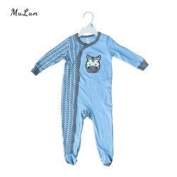 2021 Nieuw ontwerp comfortabele en huidvriendelijke Bodysuit met lange mouwen voor peuters Das Dye Romper Baby Onesie