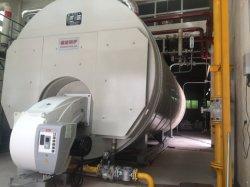 Abgefeuerter Dampfkessel des Wns Gas-(Öl)/Heißwasserdampfkessel