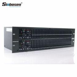 Ecualizador de Audio Profesional Ecualizador Ecualizador potencia SBX-231 Equipo de DJ Equipo de sonido profesional