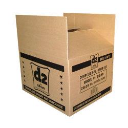 Kundenspezifischer Papierkarton-verpackenkasten-beweglicher Kasten-Datei-Kasten für Verschiffen